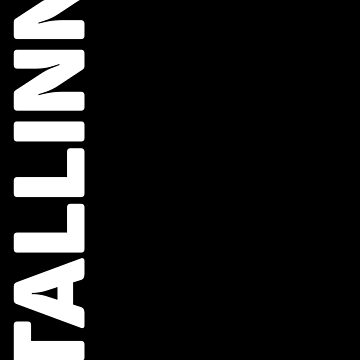 Tallinn T-Shirt by designkitsch