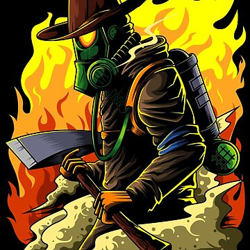 Firefighter Illustration - Firefighter Hero Brand by anziehend
