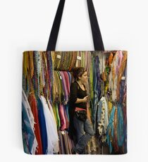 Scarves and Shawls Tote Bag