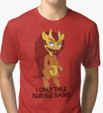 Hormone Monstress - Big Mouth Tri-blend T-Shirt
