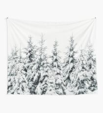 Snow Porn Wall Tapestry
