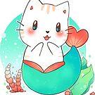 «Mermaid Cat - chibi kawaii» de linkitty