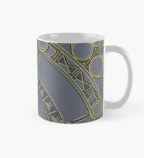 Golden Mandala Hand Painted Classic Mug
