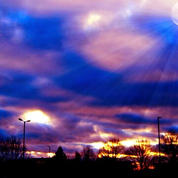 Looking out from Enfields Retail Park From Sainsbury's Car Park London En1  by SteveHarris123