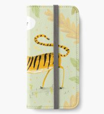 Lieber Tiger iPhone Flip-Case/Hülle/Skin