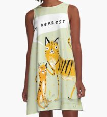 Dear Tiger A-Line Dress