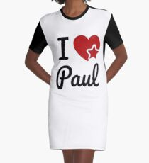 Ich liebe Paul, ich liebe Paul Soul-Mate T-Shirt Kleid