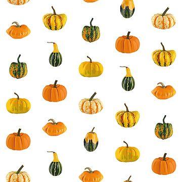 Pumpkins pattern by EmmeBi-graphic