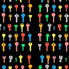 The Coloured Keys to Success by ezcreative
