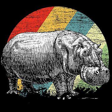 Hippo Safari by GeschenkIdee