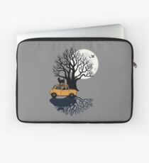 Vollmond-schwarze Katzen und klassischer Mini Laptoptasche