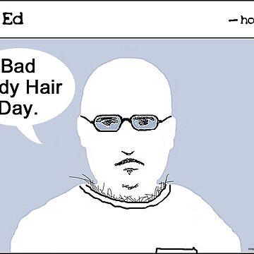 """Op"" Ed Comic strip - Bad Hair by cousinbessie"