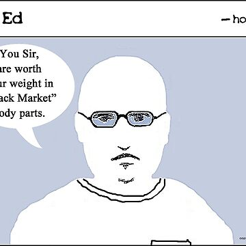 """""""Op"""" Ed Comic strip - Worth Your Weight by cousinbessie"""