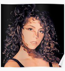 Mariah 1990 Illustration Poster