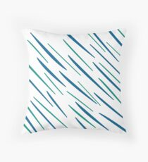 Cojín Diseño de lineas azules