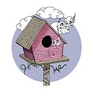 Bird's house: The Singer by Printables Passions