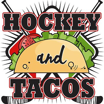 Hockey Player Taco Coach Goalie Funny Gift Son by kh123856