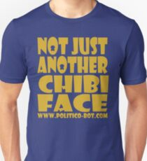 POLITICO'BOT: Not Just Another Chibi Face Unisex T-Shirt