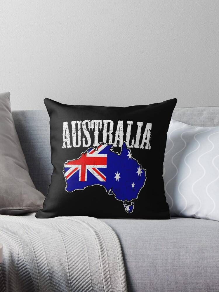 Australia Map / Flag by EddieBalevo