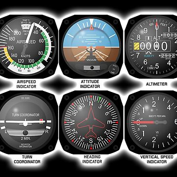FLIGHT INSTRUMENTS by TOMSREDBUBBLE