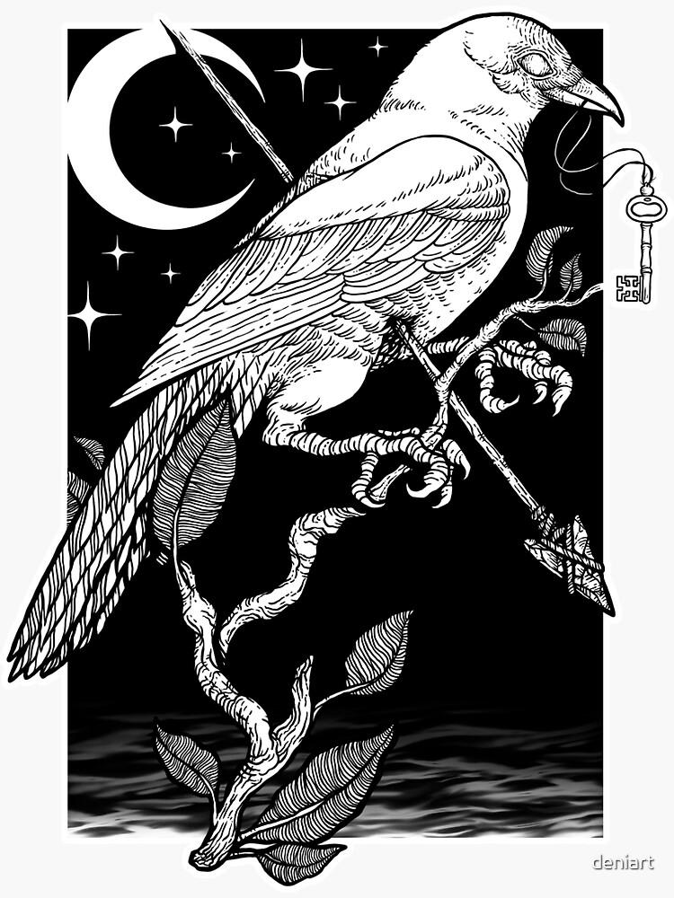 Noche cuervo de deniart
