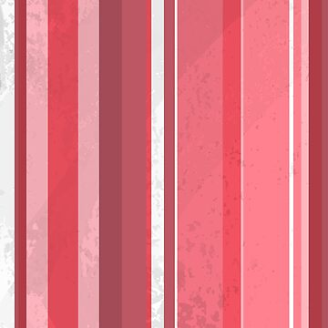 70's Retro Stripes Pink  by ImagineThatNYC