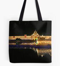Celebration of Guru Nanak's Birthday -IV Panorama Tote Bag