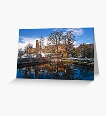 Prudhoe Castle, Northumberland, England Greeting Card