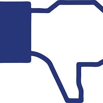 Dislike - Facebook by Gustavinlavin