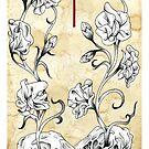 Elder Futhark 11. Isa by Haunting Beauty Art by hauntingbeauty