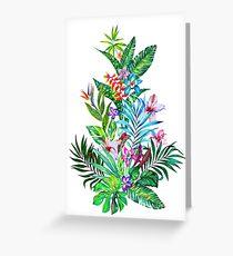 Tropical Fest Greeting Card