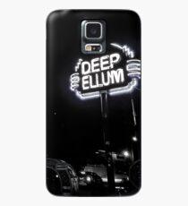 Deep Ellum Black and White Case/Skin for Samsung Galaxy