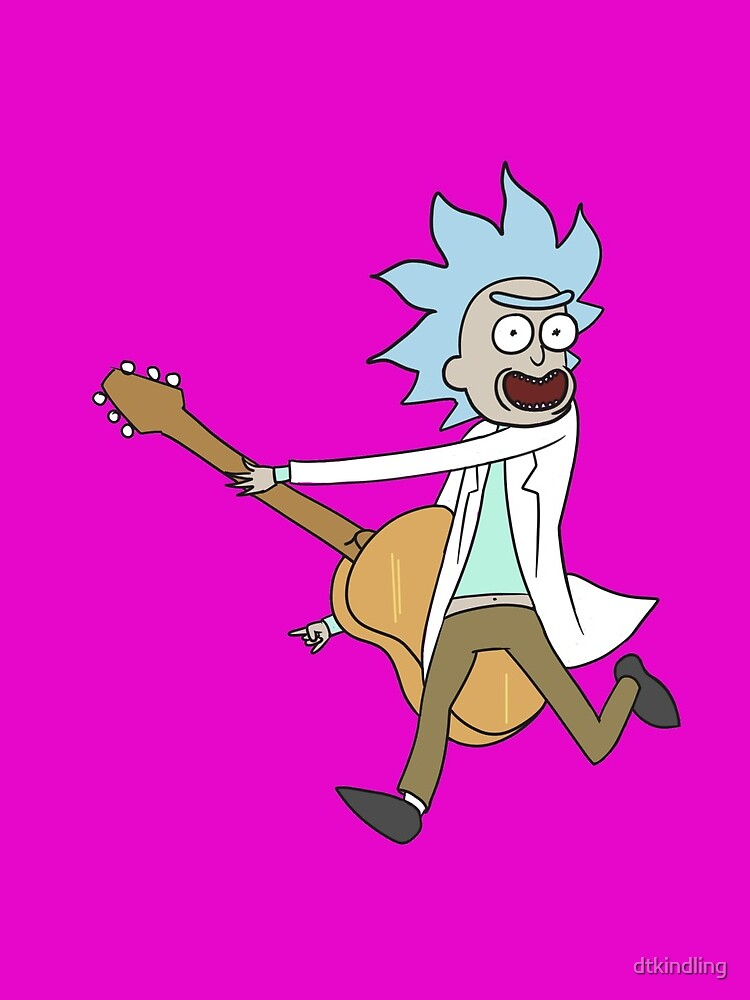 Tiny Rick! by dtkindling