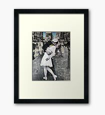 The Kiss (part II) Framed Print