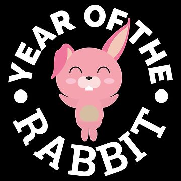 Chinese Zodiac - Year of the Rabbit Cute - Gift Idea by vicoli-shirts