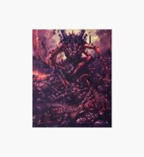 Tyranids - Aftermath of the Swarm Art Board Print