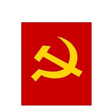 bandera comunista de Mier8