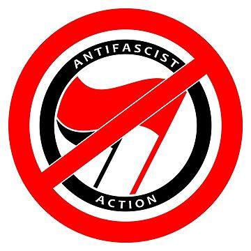 Antifa Logo by RebarForOwt