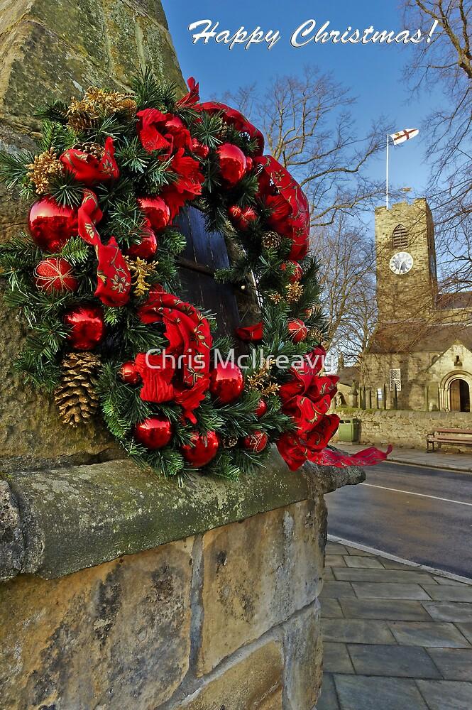 Corbridge Christmas Card by Chris McIlreavy