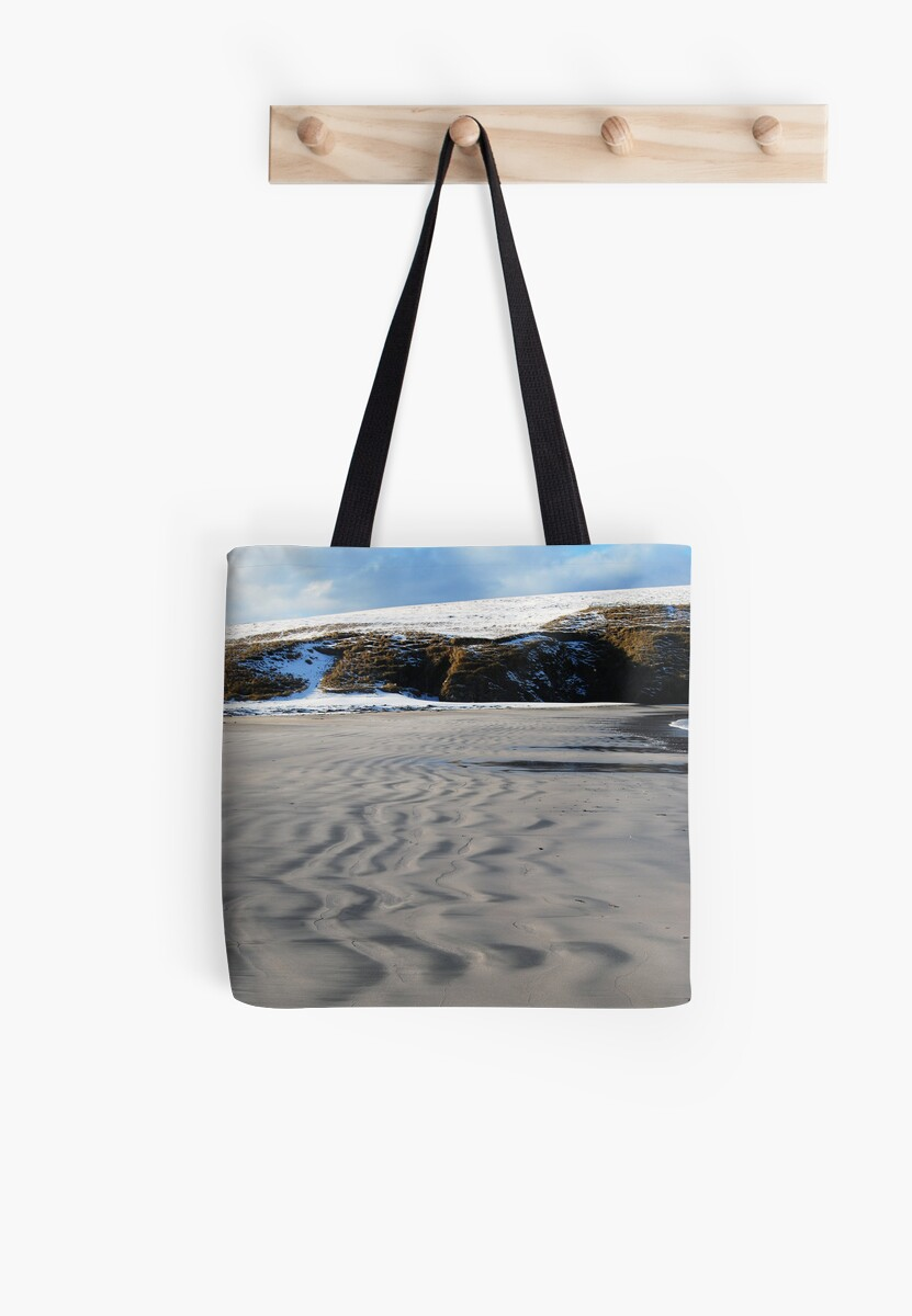 Wiggles in the sand, St Ninian Isle, Bigton by ShroomIllusions