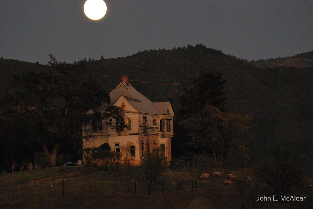 The haunted house by John E. McAlear