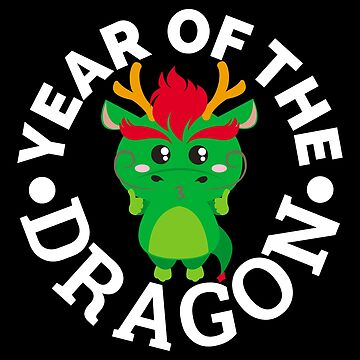 Chinese Zodiac Year of the Dragon - Gift Idea by vicoli-shirts