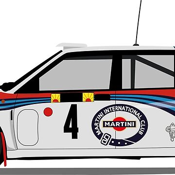 Lancia Delta Martini 1992 by ICRDesigns