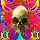 Skull Butterfly by Icarusismart
