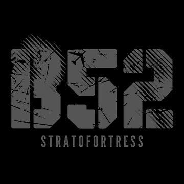 B-52 Stratofortress | USA Bomber Flag Distressed T-Shirt by JohnPhillips