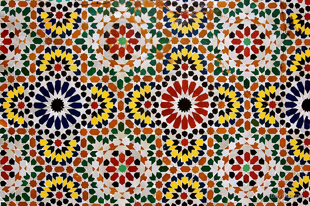 Moroccan Tiles by bevgeorge