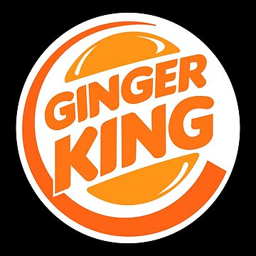 Funny Redhead Ginger King  by SQWEAR