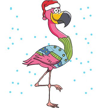 Pink Flamingo Christmas by frittata