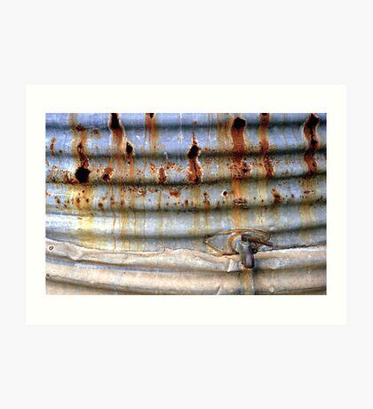 Rusting in peace Art Print