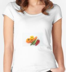 Vegetables Women's Fitted Scoop T-Shirt
